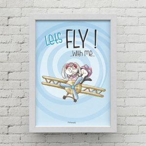 Lets fly with me QI0003 B