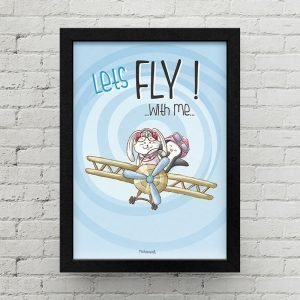 Lets fly with me QI0003 P